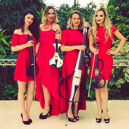 Elena Thedvall - Velvet String Quartet