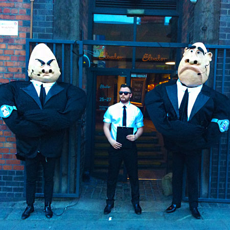 VIP Puppets - Bouncer Puppets