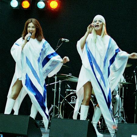 Super Tribute - 2 person ABBA Tribute