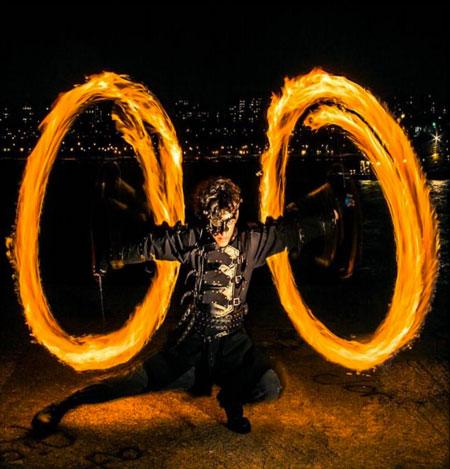 Zambient Fire/LED Performance Artist