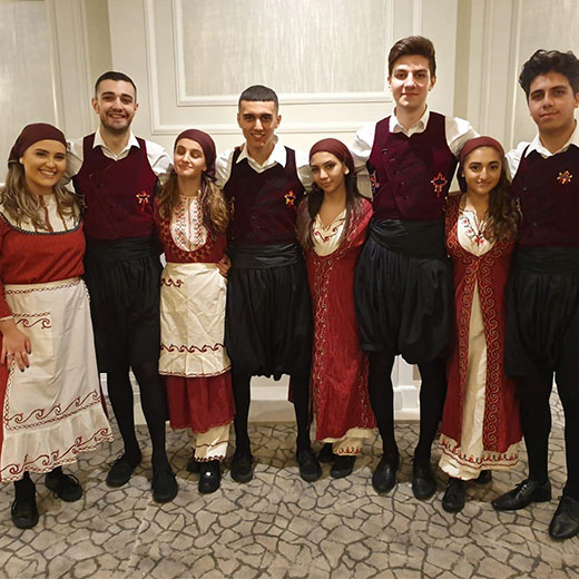 The Elites - London's Greek Dance Troupe