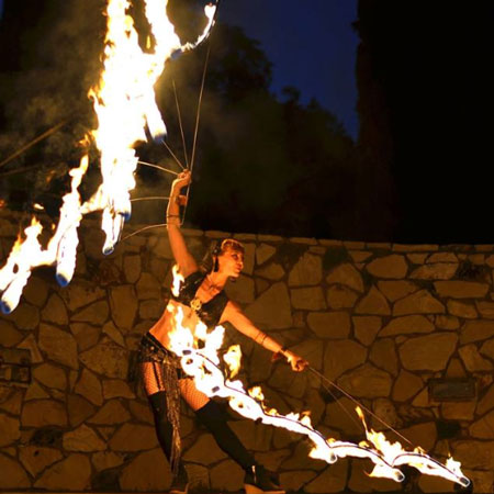 Sacred Fire Dance - Fire
