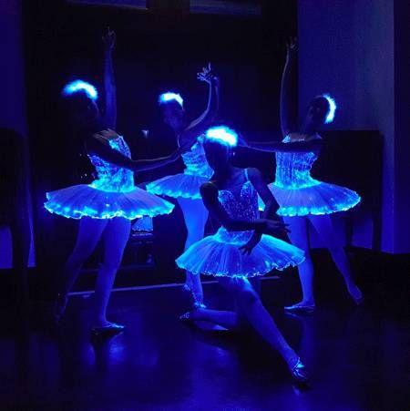 Elegant LED Dancers