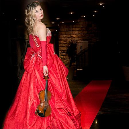 Fire Desire - Red Carpet Dress Violinist
