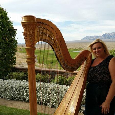 Amber Mckissick - Harpist