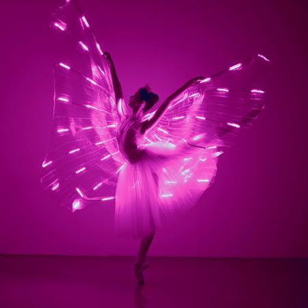 Sophie Adams LED Butterfly Ballerinas