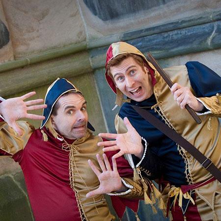Court Jesters - Royal Footmen