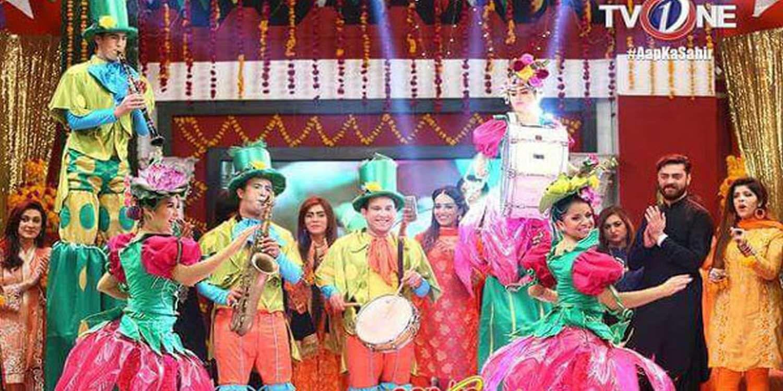 Musical Flower Parade Blooms At LuckyOne Mall In Karachi, Pakistan