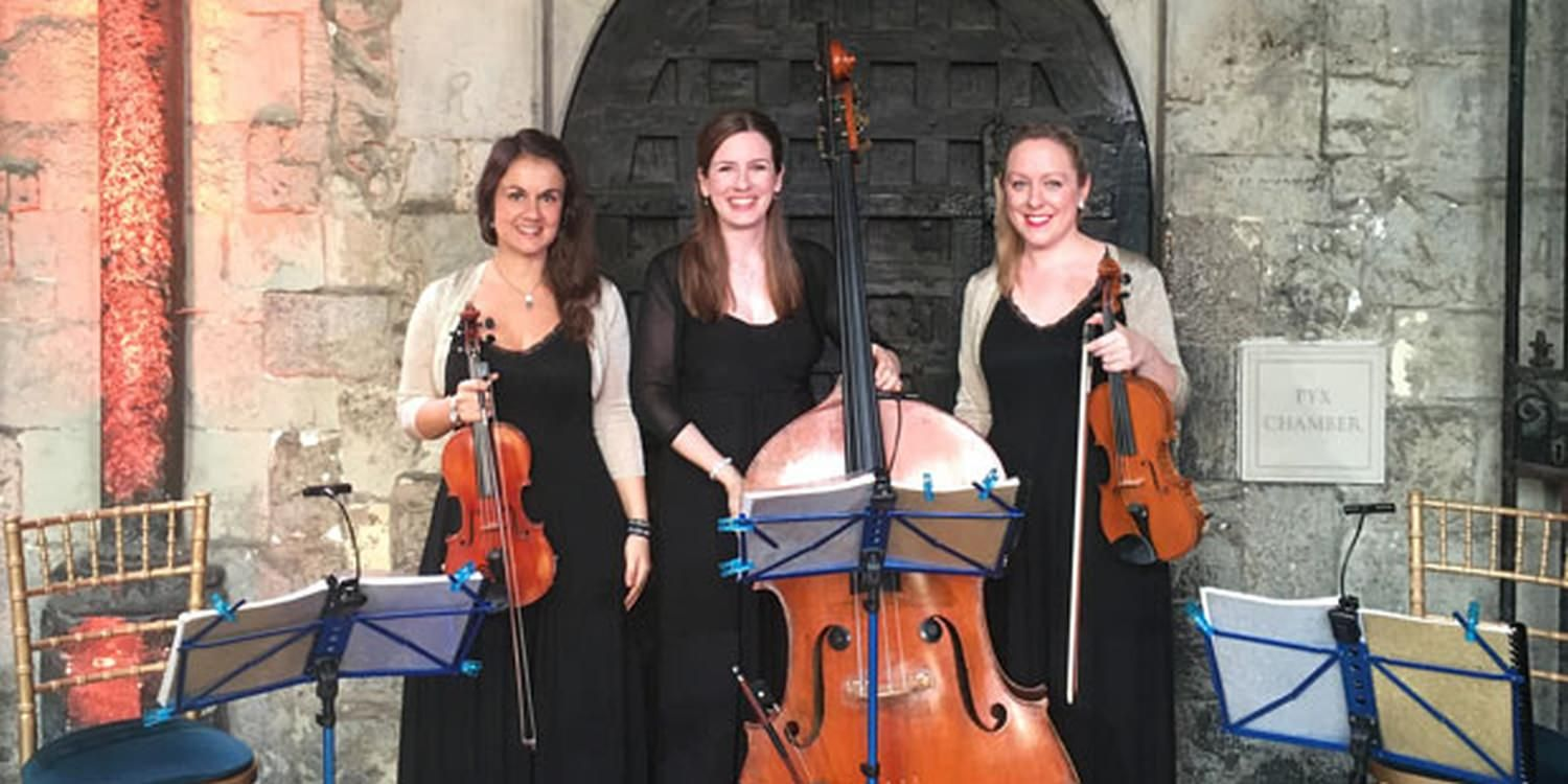 Musical Trio Supply The Melody For London Event