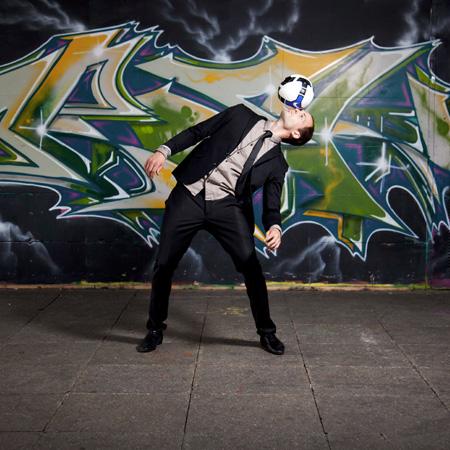 Daniel Cutting - UK Football freestylers