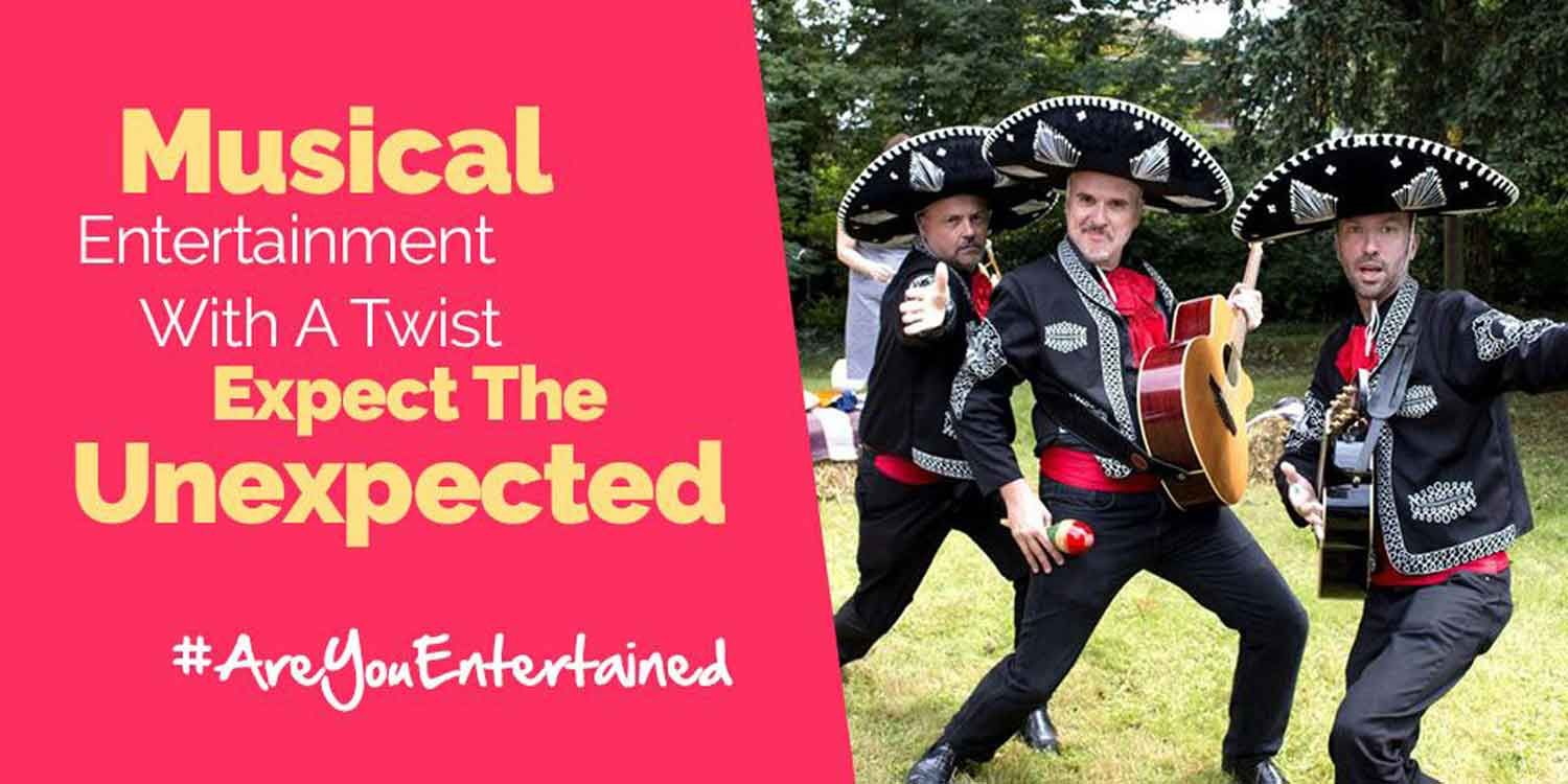 Music Entertainment With A Twist: Expect The Unexpected