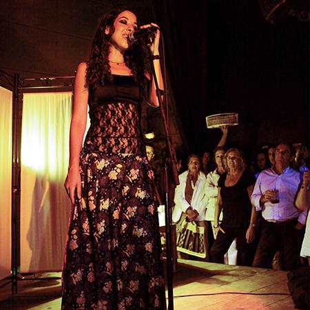 Rita El Jebari - Singer and Pianist
