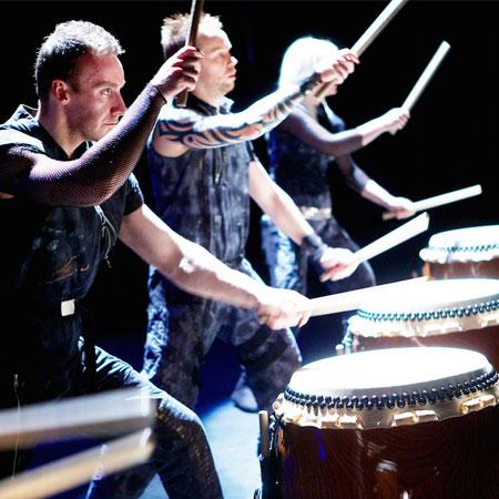 Mugen Taiko Dojo Drummers