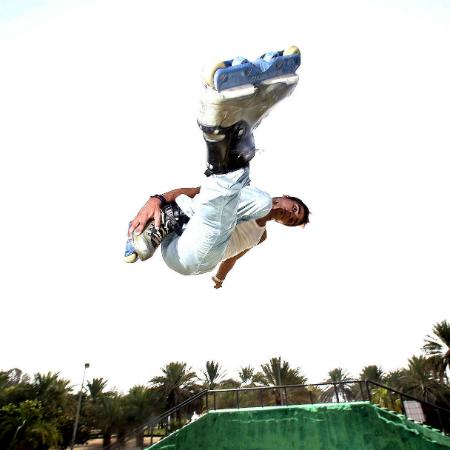 SultanFlip - Freestyle Rollerblader