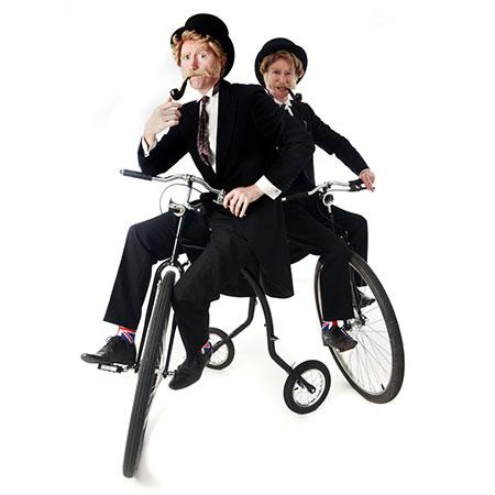 Felix and Felix - Vintage Bicycle Duo