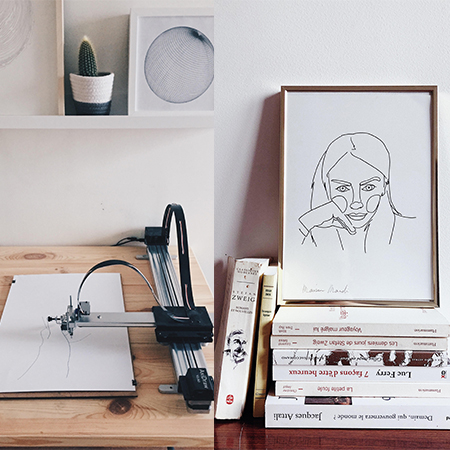 Hubert Mardi - Robotic Illustrator