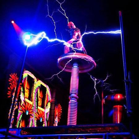 Sky Fire Arts - Lightning Show
