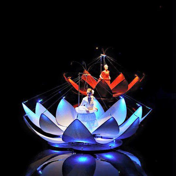 Chanson d'eau - Floating Lilies
