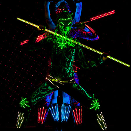 The Furious Angel Show - Neon Show