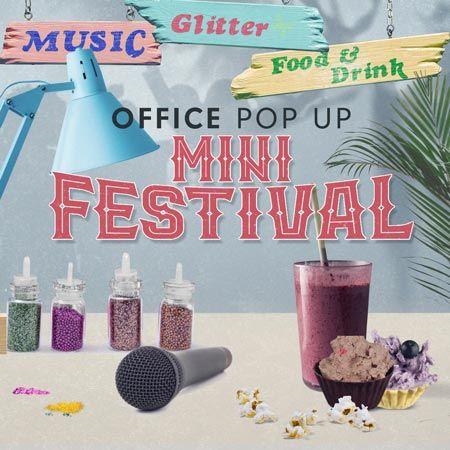 Custom Creations - Office Pop Up Mini Festival