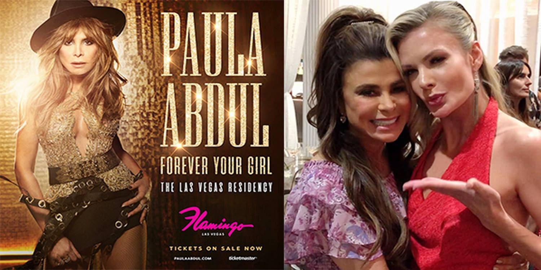 Sand Artist Joins Paula Abdul's Las Vegas Residency Show