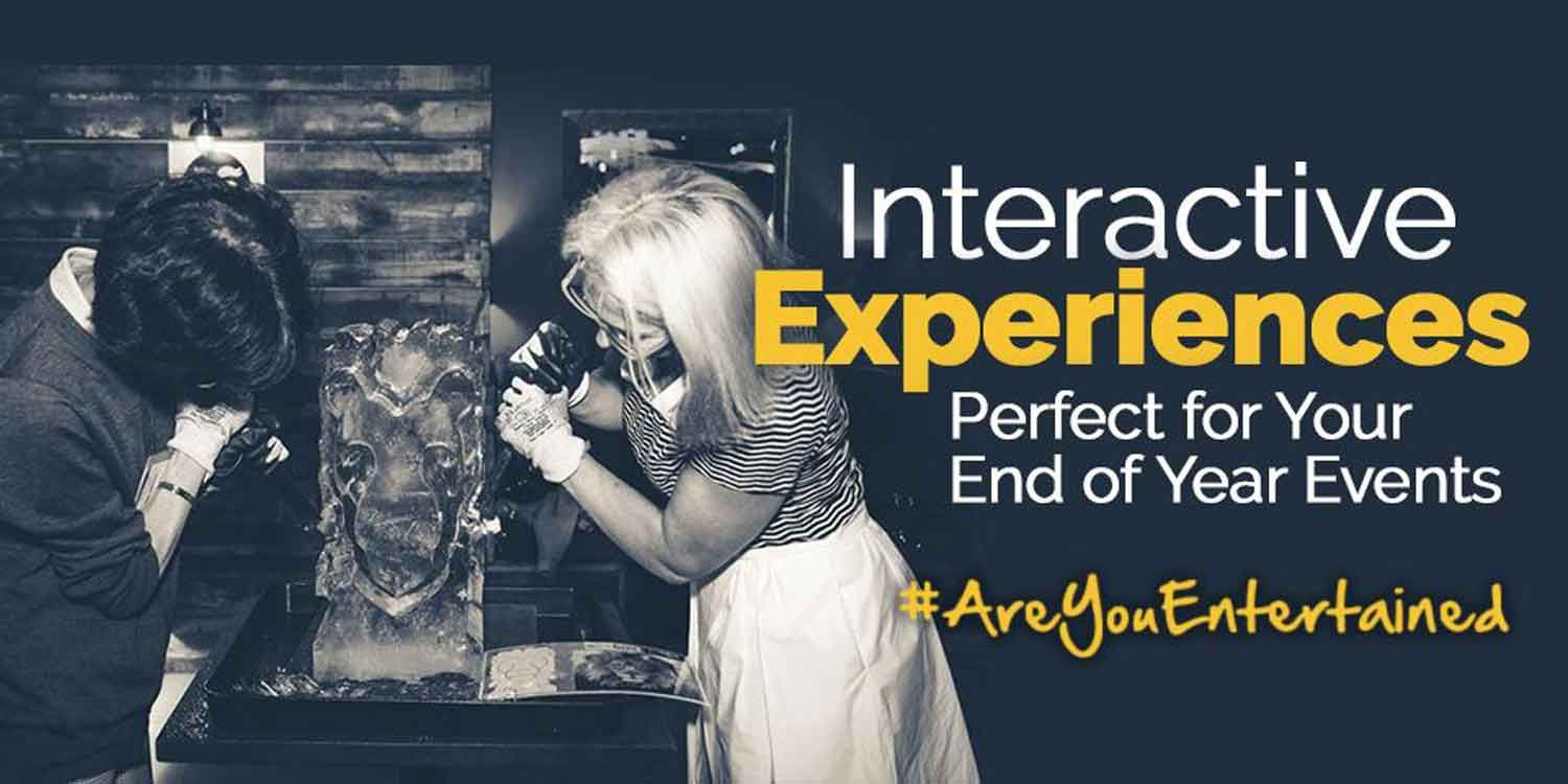 Interactive Experiences Perfect For Your End of Year Events