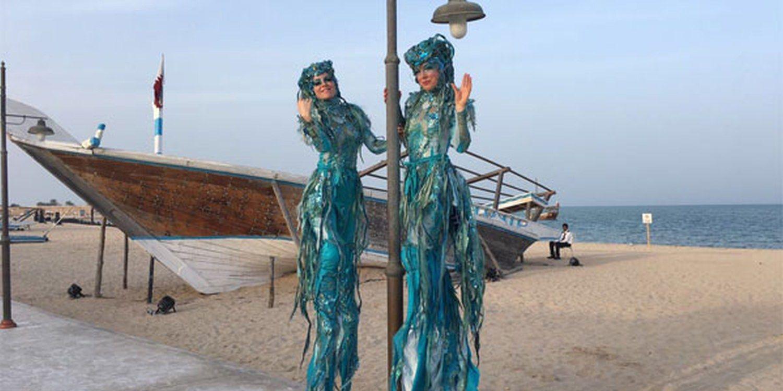 Mermaids Find Their Legs In The Desert With Scarlett