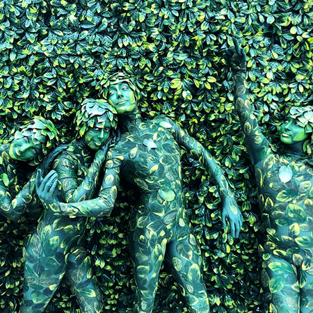 TEN31 - Living Lemon Leaf Wall