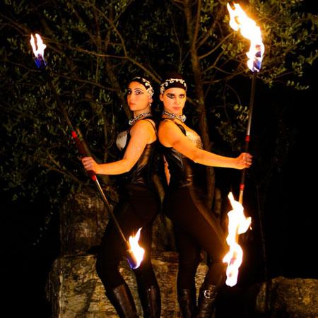Illusias - Fire Show