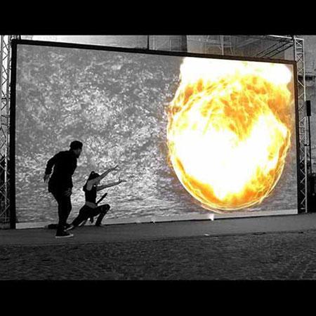 Das Spielvolk - Video Mapping Dance Show