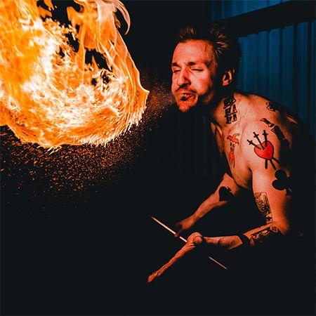 Joseph Kerr - Fire Performer